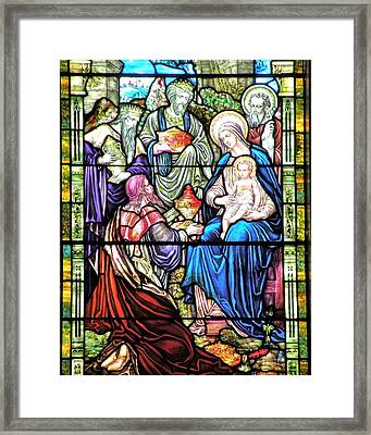 Three Wise Men - Visitation Of The Magi Framed Print