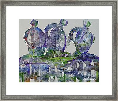 Threefold Cord Framed Print
