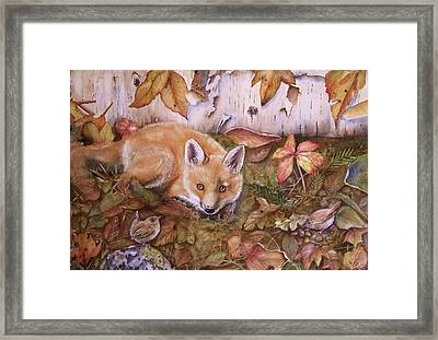 Three's A Crowd Framed Print by Patricia Pushaw