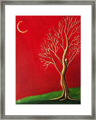 Framed Print featuring the drawing Threnody by Danielle R T Haney