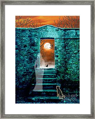 Threshold Framed Print by Cristophers Dream Artistry