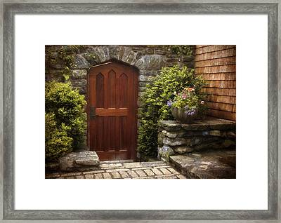 Threshold Framed Print by Jessica Jenney