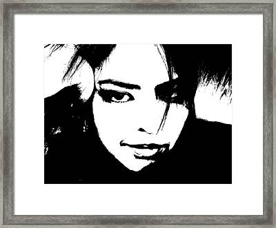 Framed Print featuring the photograph Threshold Self Portrait by Zinvolle Art