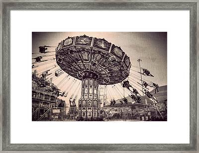 Thrill Rides Framed Print