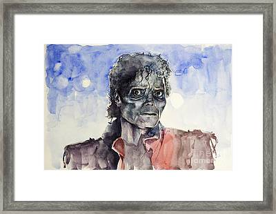 Thriller 2 Framed Print by Bekim Art