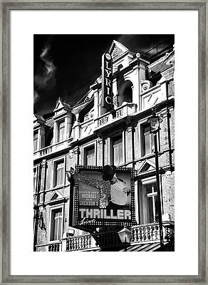 Thriller Framed Print by John Rizzuto