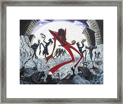 Thriller V2 Framed Print