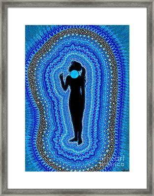 Throat Chakra Vishuddha Framed Print