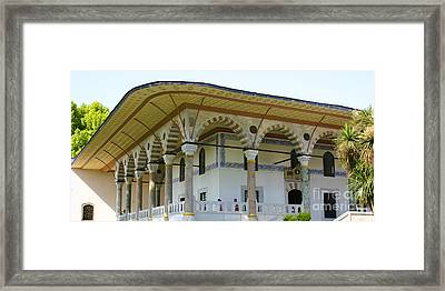 Throne Room Audience Chamber Topkapi Palace Istanbul Turkey Framed Print by PIXELS  XPOSED Ralph A Ledergerber Photography