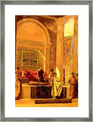 Throne Room Of Byzantium Framed Print