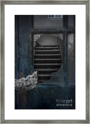 Through A Broken Glass Framed Print by Svetlana Sewell