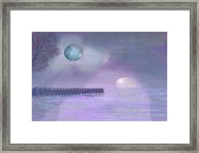 Through Gossamer Framed Print by Peri Craig