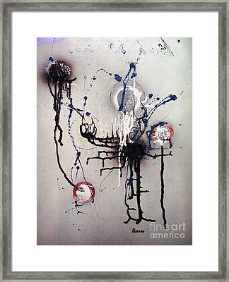 Through Mezcal Soaked Eyes Framed Print by Roberto Prusso