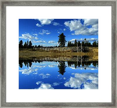 Through My Eyes Framed Print by Janice Westerberg