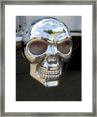 Framed Print featuring the photograph Through My Eyes by Marie Neder
