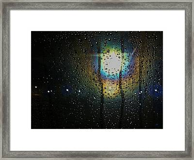 Through My Window Framed Print