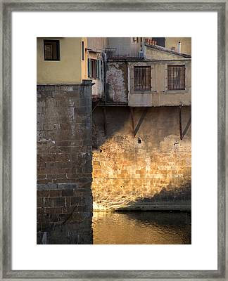 Through The Ages Time.. Framed Print