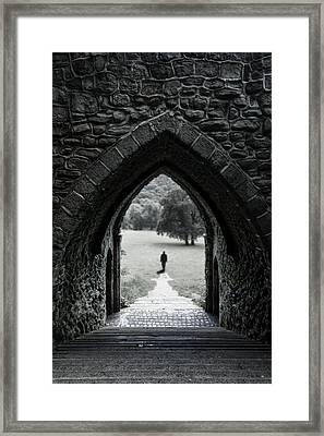 Through The Arch Framed Print by Svetlana Sewell