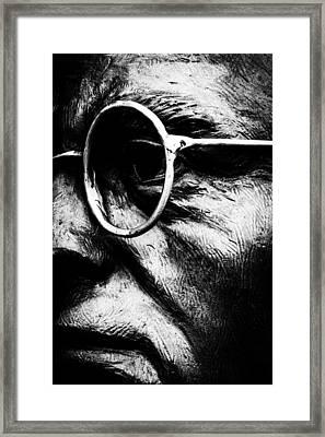 Through The Eyes Framed Print