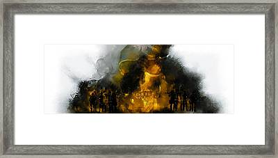 Through The Fire  Framed Print
