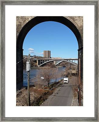 Through The Highbridge Framed Print by Steve Breslow