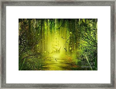 Through The Jungle Framed Print by Svetlana Sewell