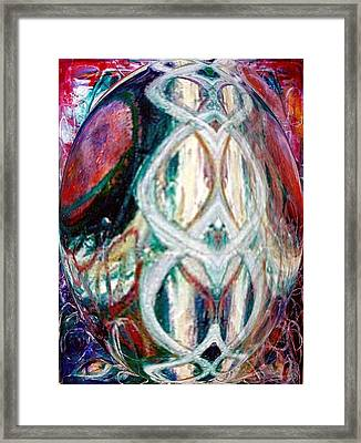 Through The Looking Glass Framed Print by Phoenix De Vries
