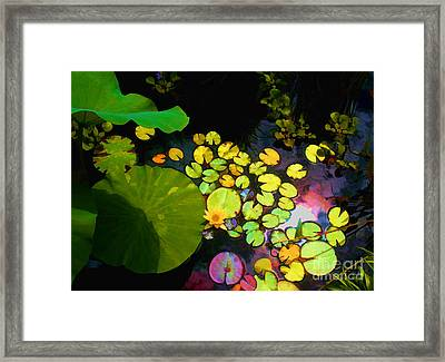 Through The Looking Glass Bristol Rhode Island Framed Print