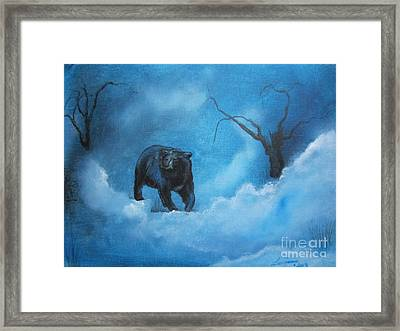 Through The Mist Framed Print by Laurianna Taylor