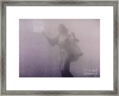 Through The Mist Framed Print