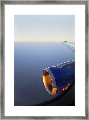 Through The Porthole Framed Print by Kantilal Patel