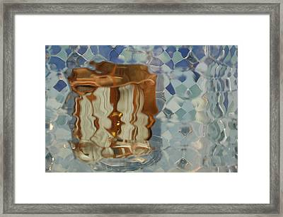 Through The Sea To The Window Framed Print by Kathy Schumann