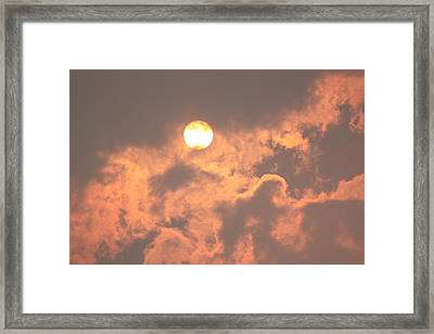 Through The Smoke Framed Print by Melanie Lankford Photography