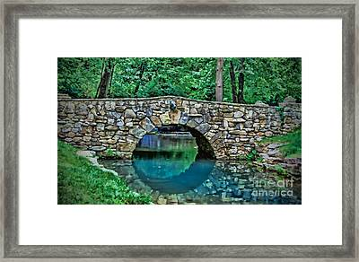 Through The Tunnel Framed Print
