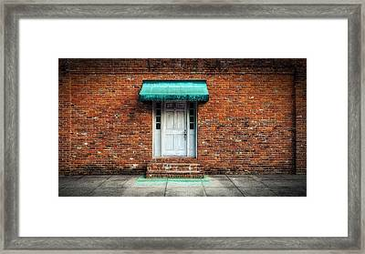 Through The Wall - Natchez Framed Print