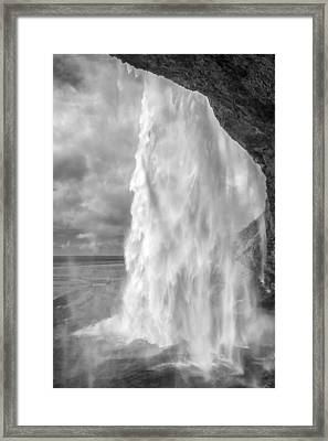 Through The Waters II Framed Print