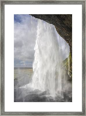 Through The Waters  Framed Print by Jon Glaser
