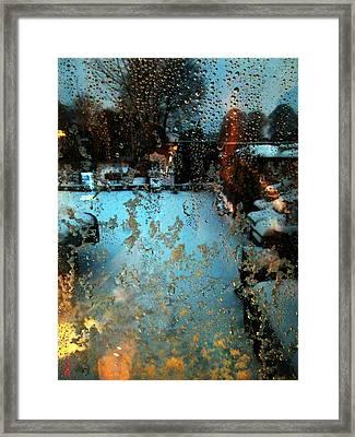 Through The Window Framed Print by Colette V Hera  Guggenheim