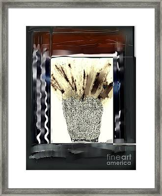 Through The Window Framed Print by Rc Rcd