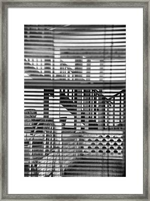 Framed Print featuring the photograph Through The Window by Susan D Moody