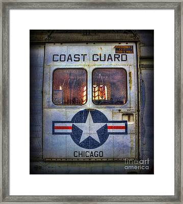 Through These Doors Dive Heroes  Framed Print