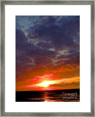 Through Time Framed Print by Q's House of Art ArtandFinePhotography