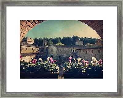 Through Time Framed Print