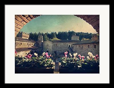 Calistoga Digital Art Framed Prints