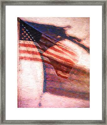 Through War And Peace Framed Print