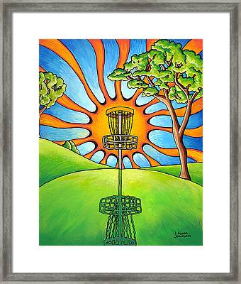 Throw Into The Light Framed Print by Adam Johnson