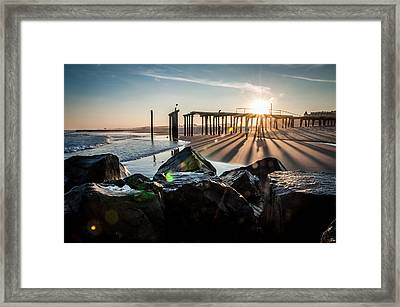 Throwing Shadows Framed Print by Kristopher Schoenleber