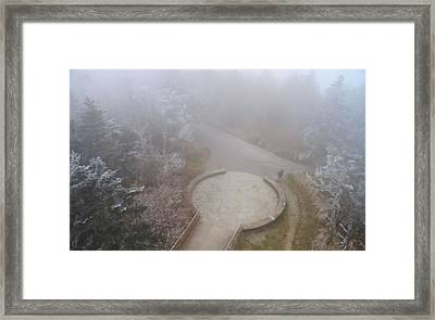 Thru Hiker On The Appalachian Trail Framed Print by Dan Sproul
