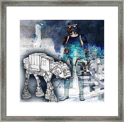 Thug Life Framed Print by Angelica Smith Bill