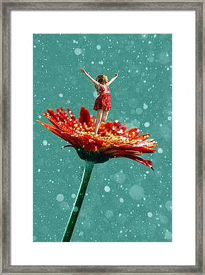 Thumbelina All Grown Up Framed Print